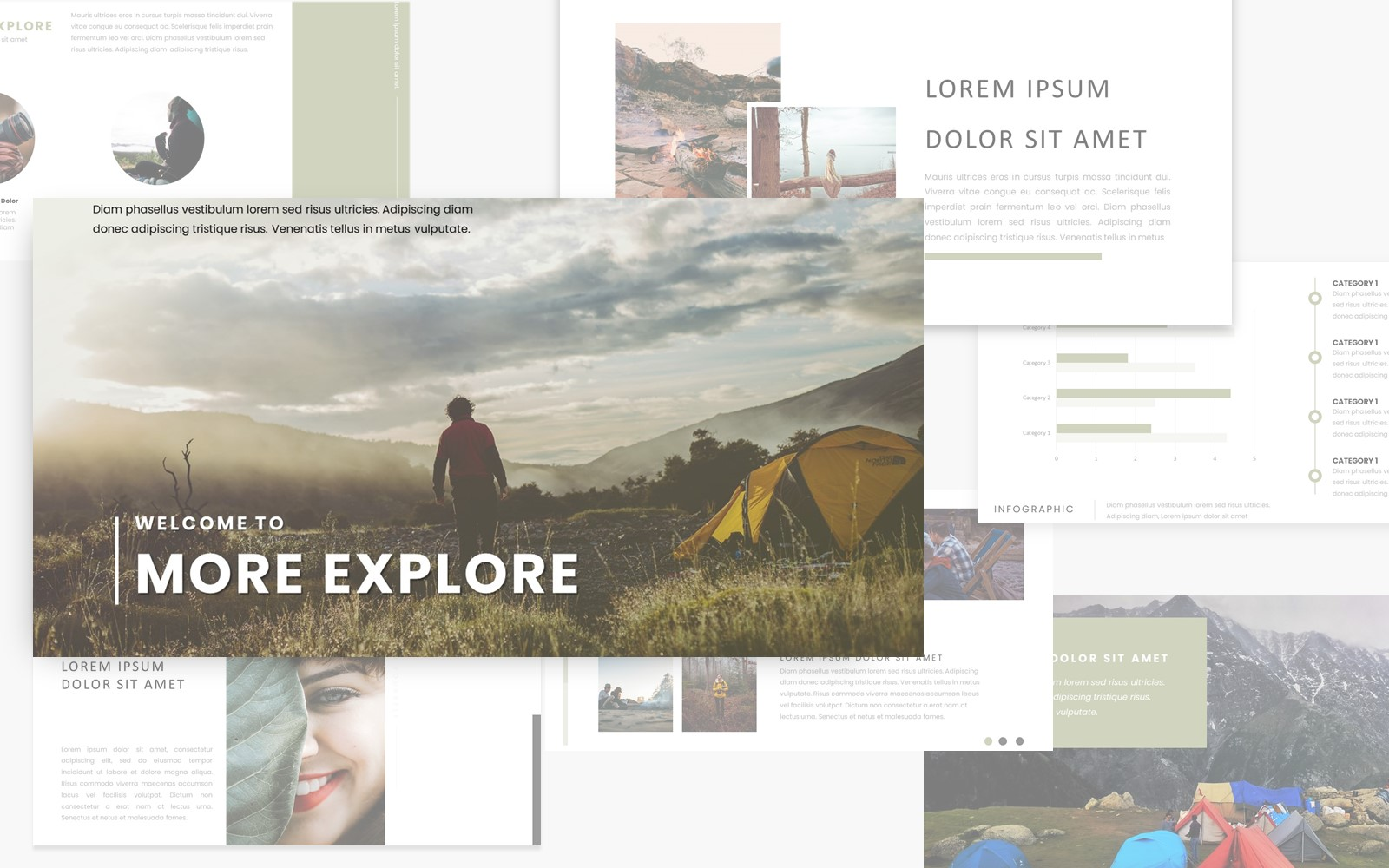 More Explore PowerPoint Template