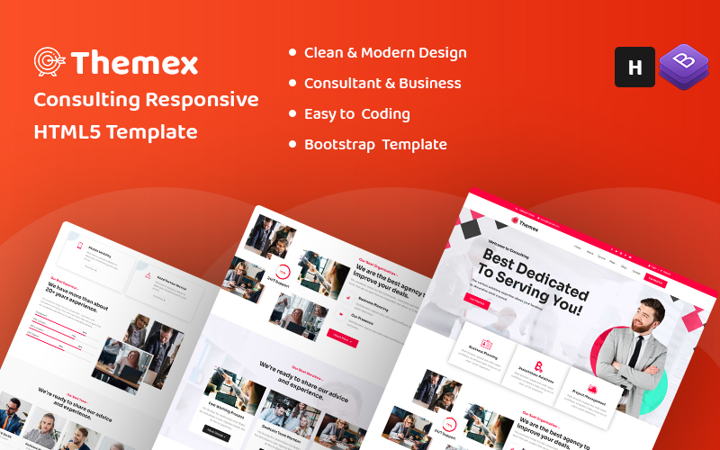 Themex - Consulting HTML5 Website Template