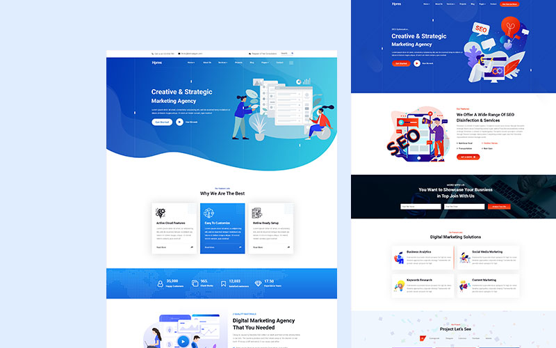 Hpres-SEO Digital Marketing Website Template