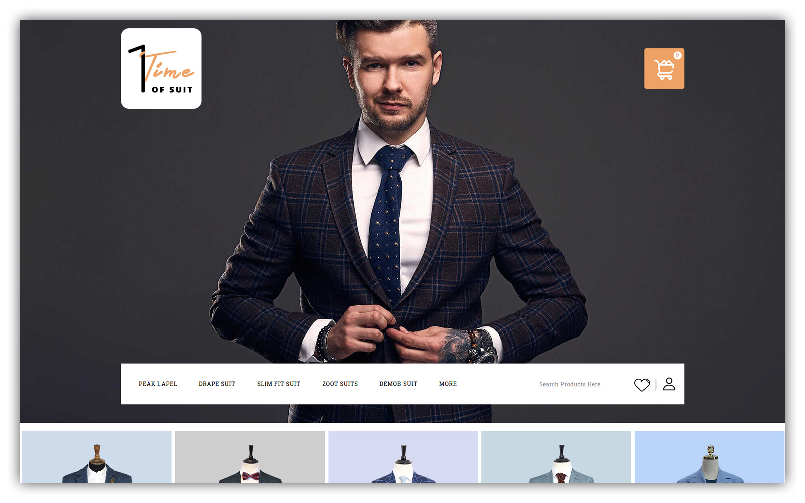 TIme of Suite - Suite Store OpenCart Template