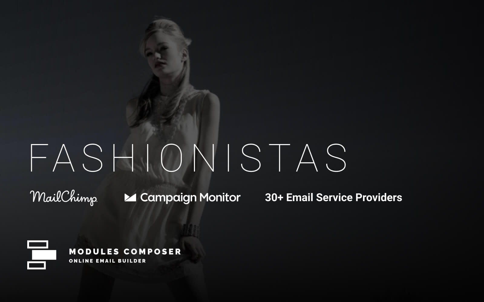 Fashionistas - Email with Online Builder Newsletter Template