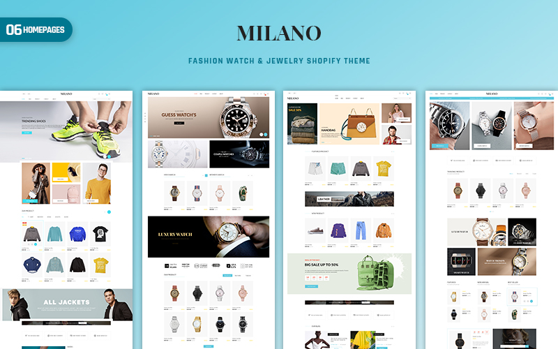 Milano - Fashion & Accessories PrestaShop Theme