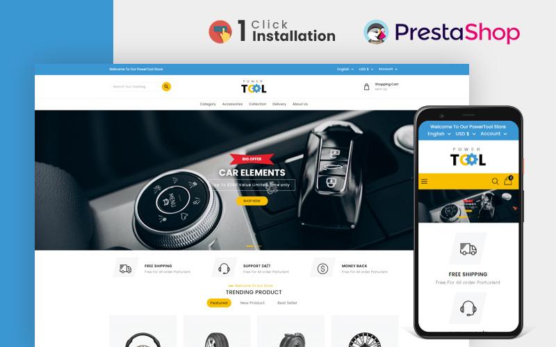 Power Tools and Accessories Store prestashopTheme PrestaShop Theme