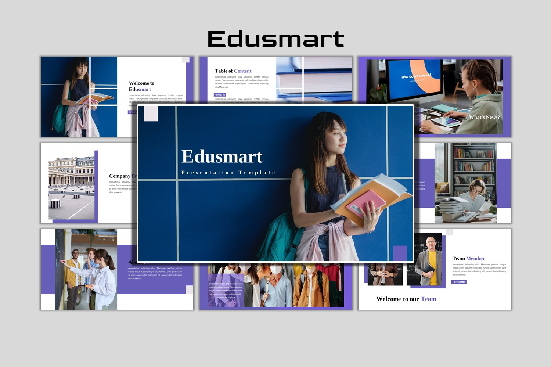 EduSmart - Creative Business Powerpoint Template