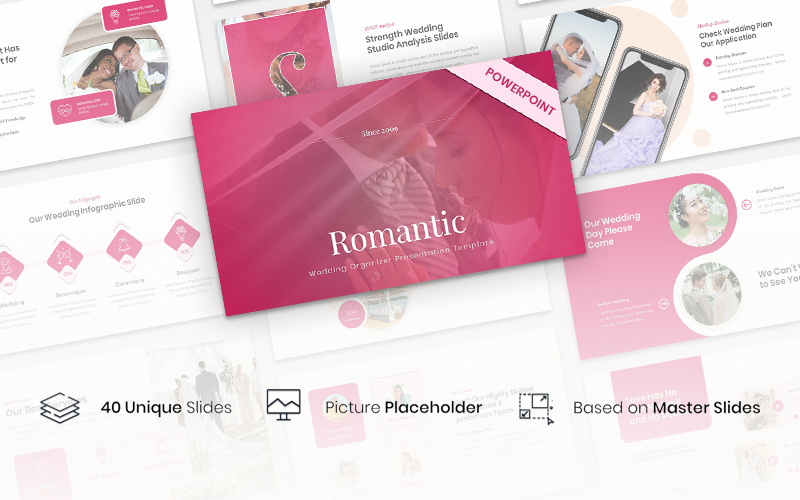 Romantic - Wedding Organizer PowerPoint