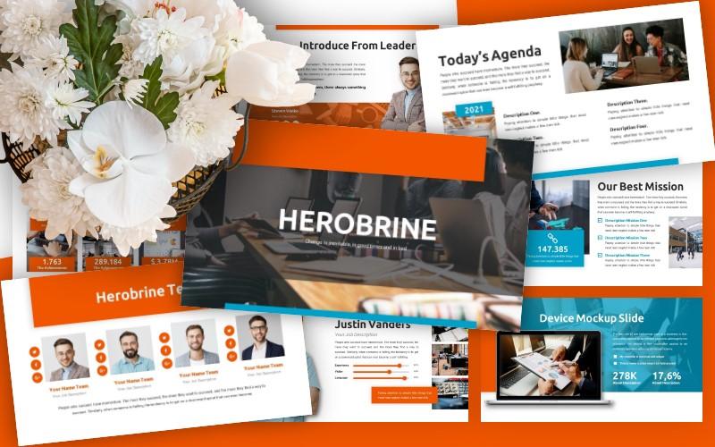 Herobrine - Powerpoint Template