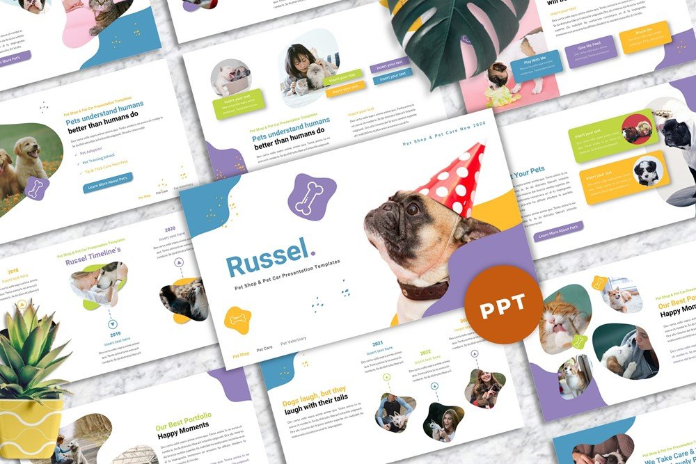Russel - Pet Care Powerpoint