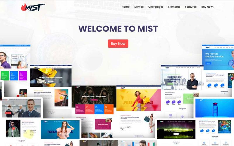 Mist | The Business Multi-Purpose HTML5 Website Template