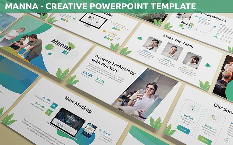 Manna - Creative Powerpoint Template