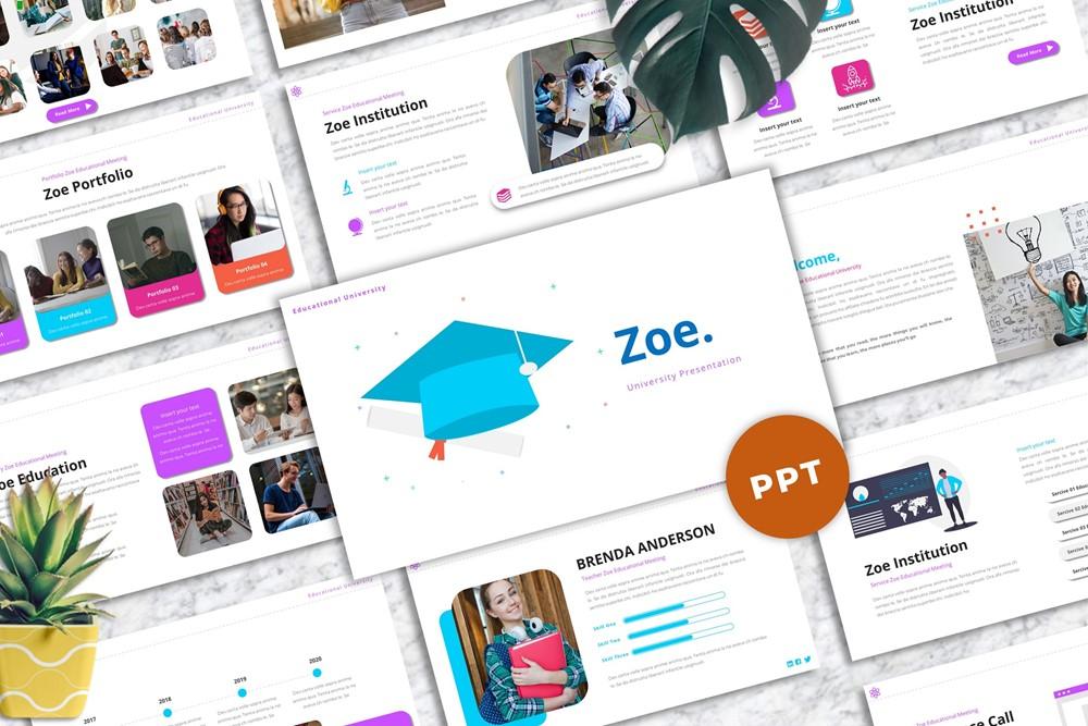 Zoe - University Powerpoint
