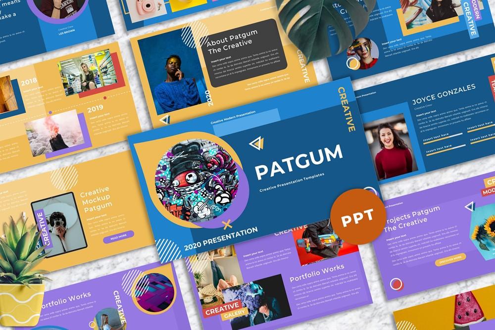 Patgum - Creative Powerpoint
