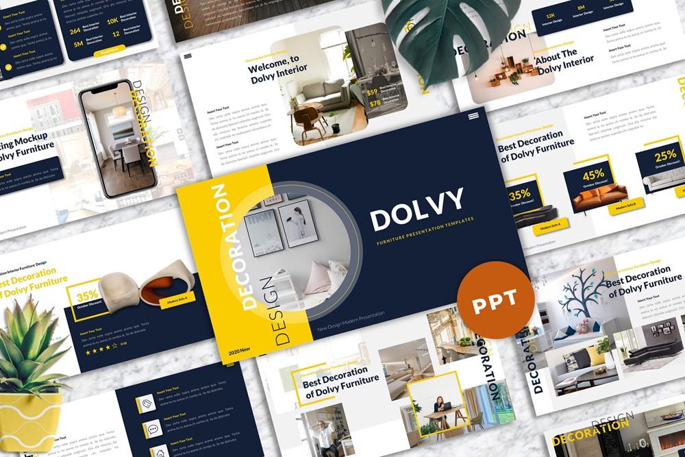 Dolvy - Furniture Powerpoint