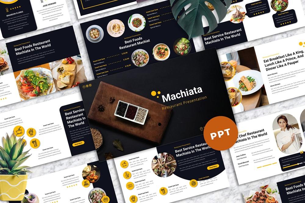 Machiata - Restaurant Powerpoint