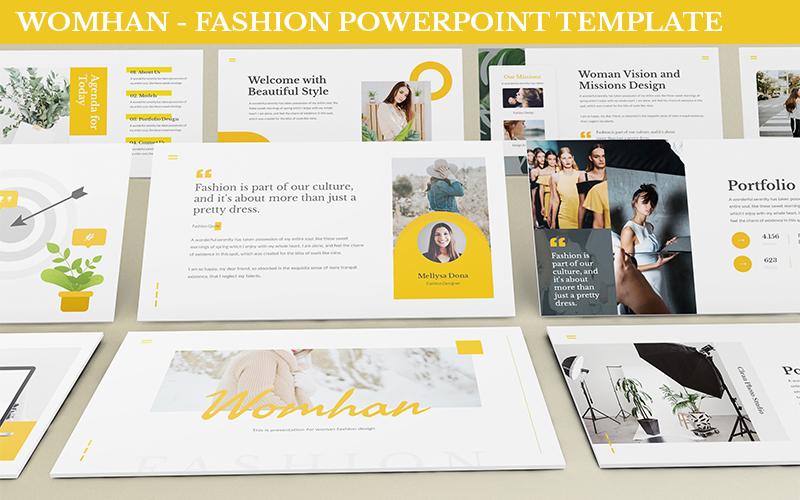 Womhan - Fashion Powerpoint