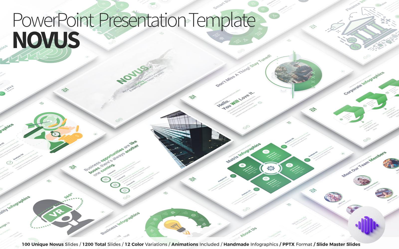NOVUS - PowerPoint Presentation Template