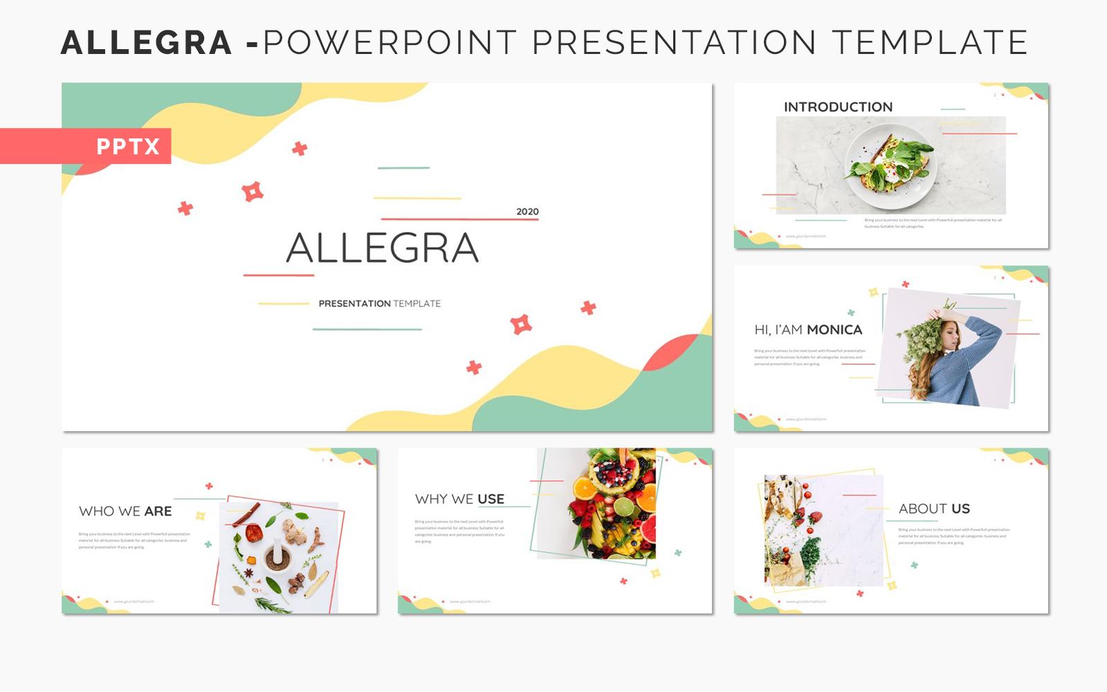 ALLEGRA - Powerpoint Presentation Template