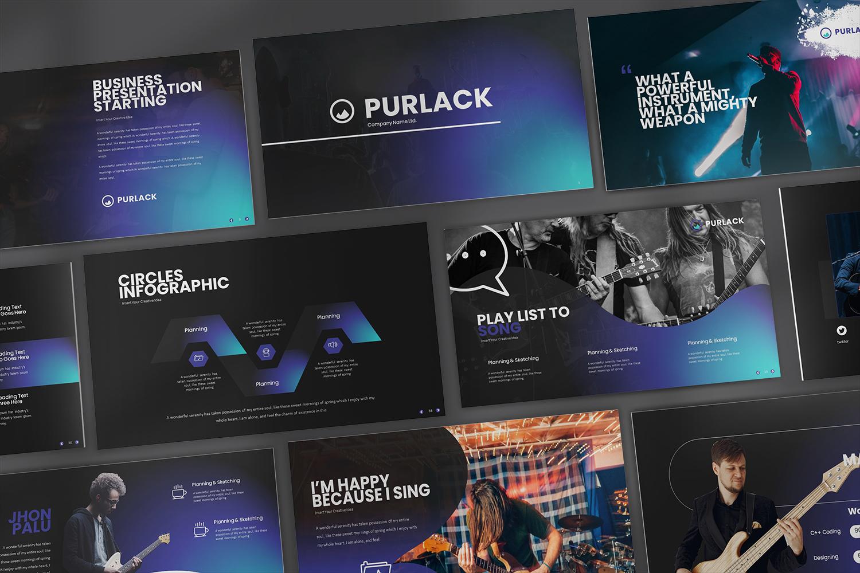 Purlack Powerpoint Presentation