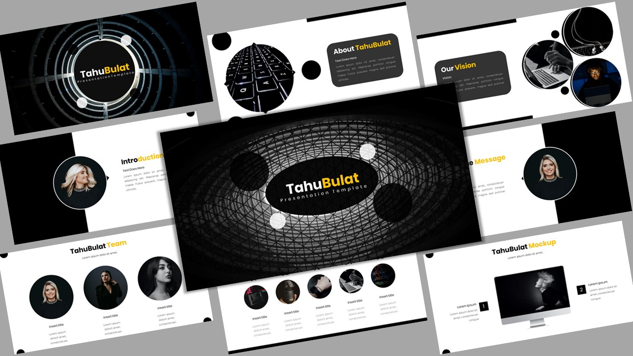 TahuBulat - Creative Business Powerpoint Template