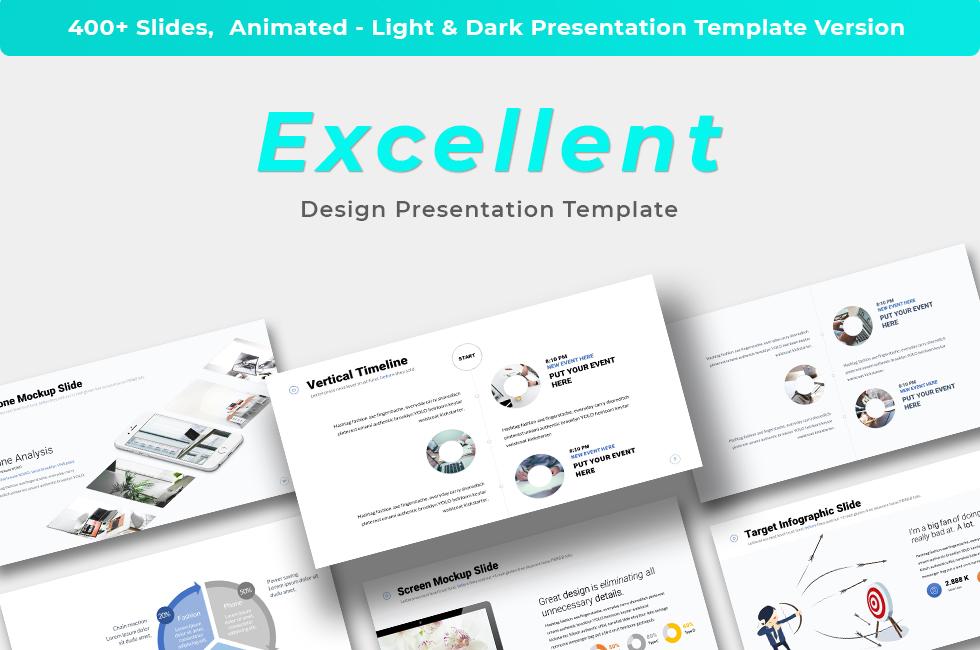 Excellent - Presentation PowerPoint template