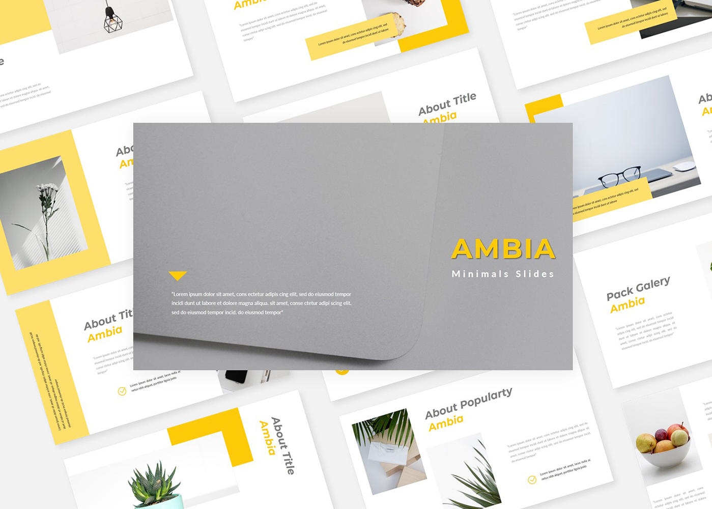 Ambia Minimals PowerPoint templates