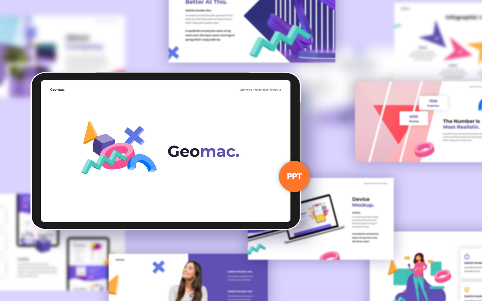 Geomac Creative PowerPoint template
