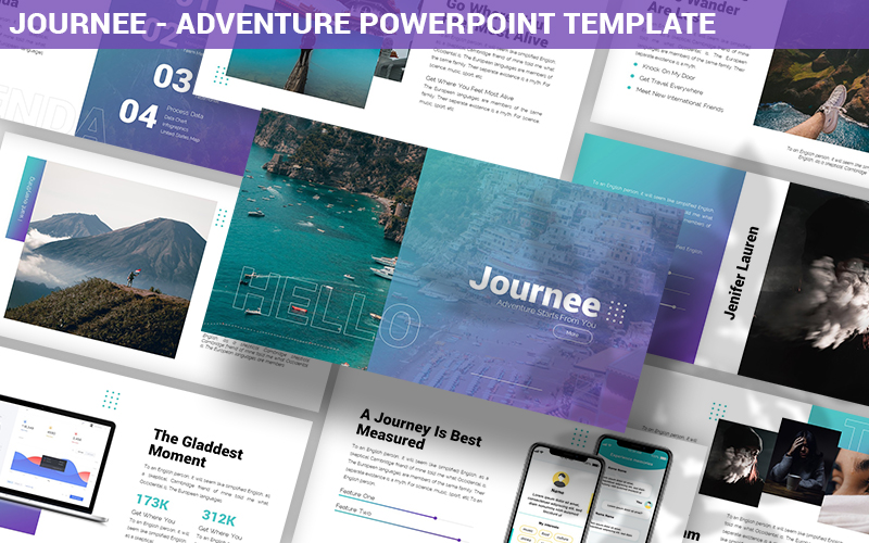 Journee - Adventure Powerpoint Template