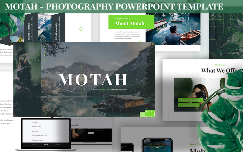 Motah - Photography Powerpoint Template