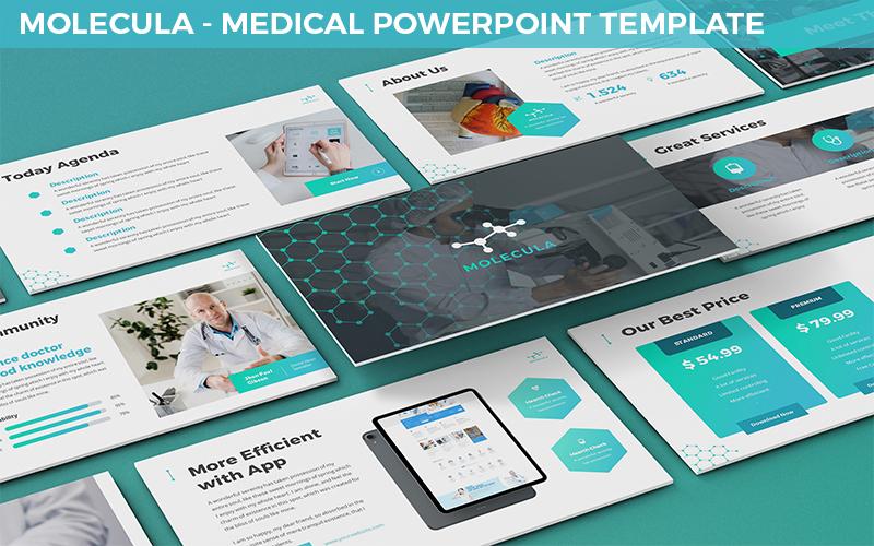 Molecula - Medical Powerpoint Template