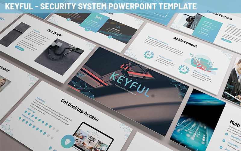 Keyful - Security System Powerpoint Template
