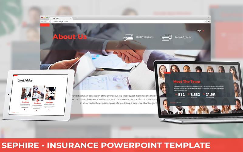 Sephire - Insurance Powerpoint Template