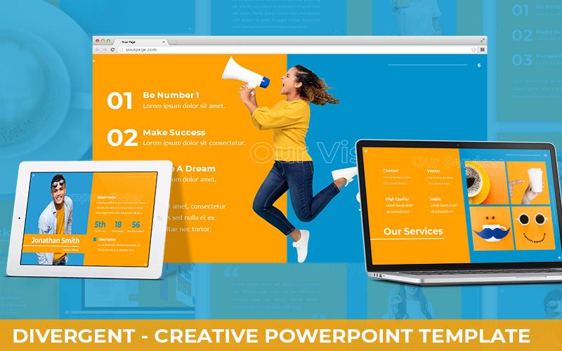 Divergent - Creative Powerpoint Template