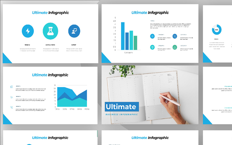 Ultimate Business Infographic Powerpoint Template