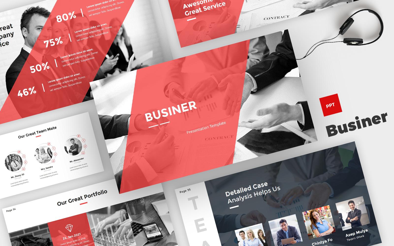 Businer - Business PowerPoint