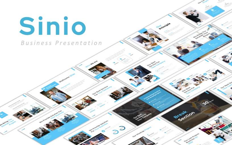 Sinio Business PowerPoint Template