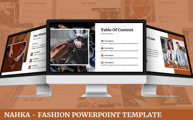 Nahka - Fashion PowerPoint Template