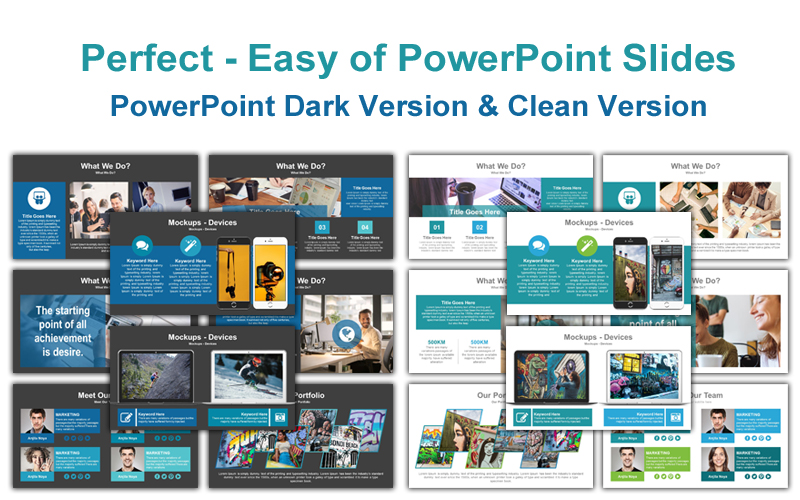 Perfect - Easy of PowerPoint Template