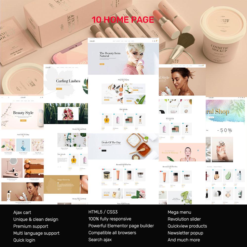 Covan Cosmetics Store Prestashop Theme