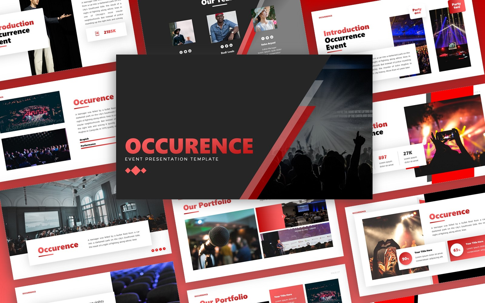 Occurence  - Event Multipurpose PowerPoint Template