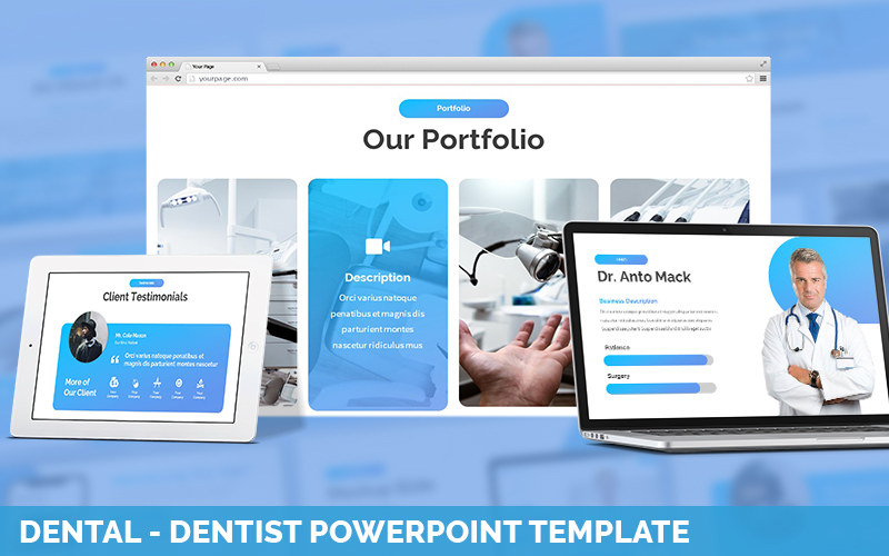 Dental - Dentist PowerPoint Template