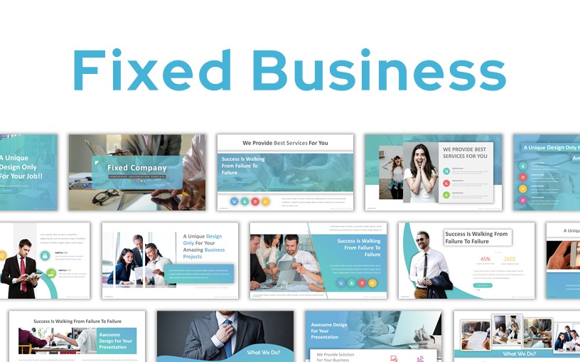 Fixed Business PowerPoint Template