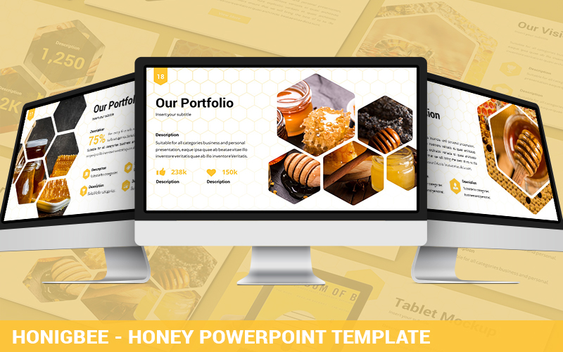 Honigbee - Honey Powerpoint Template