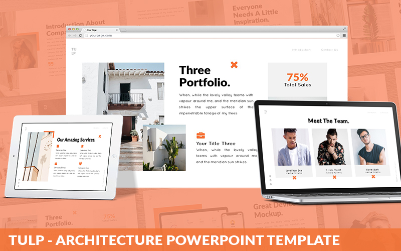 Tulp - Architecture Powerpoint Template