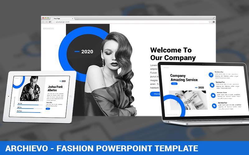 Archievo - Fashion PowerPoint Template