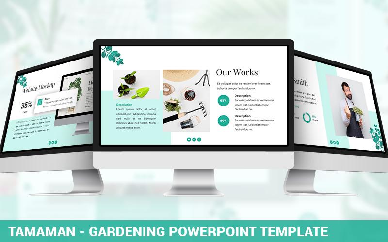 Tamaman - Gardening PowerPoint Template