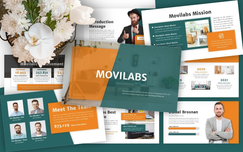 Movilabs - Business Powerpoint Template