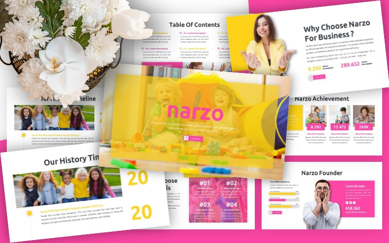Narzo - Business Powerpoint Template