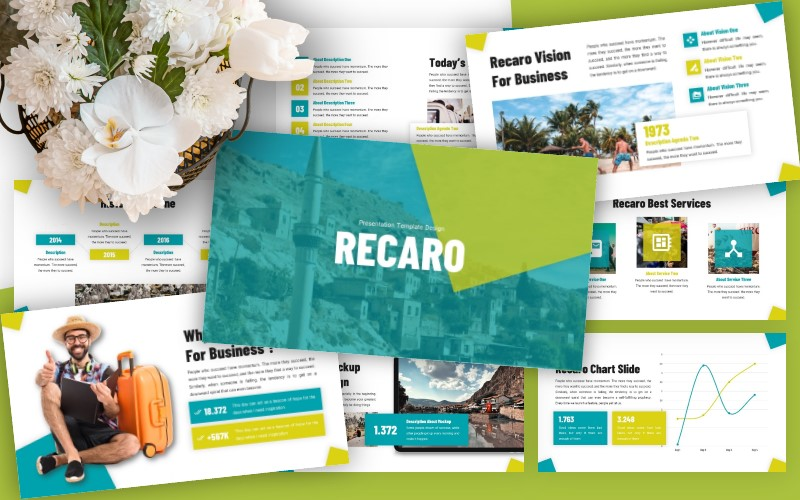 Recaro - Business Powerpoint Template