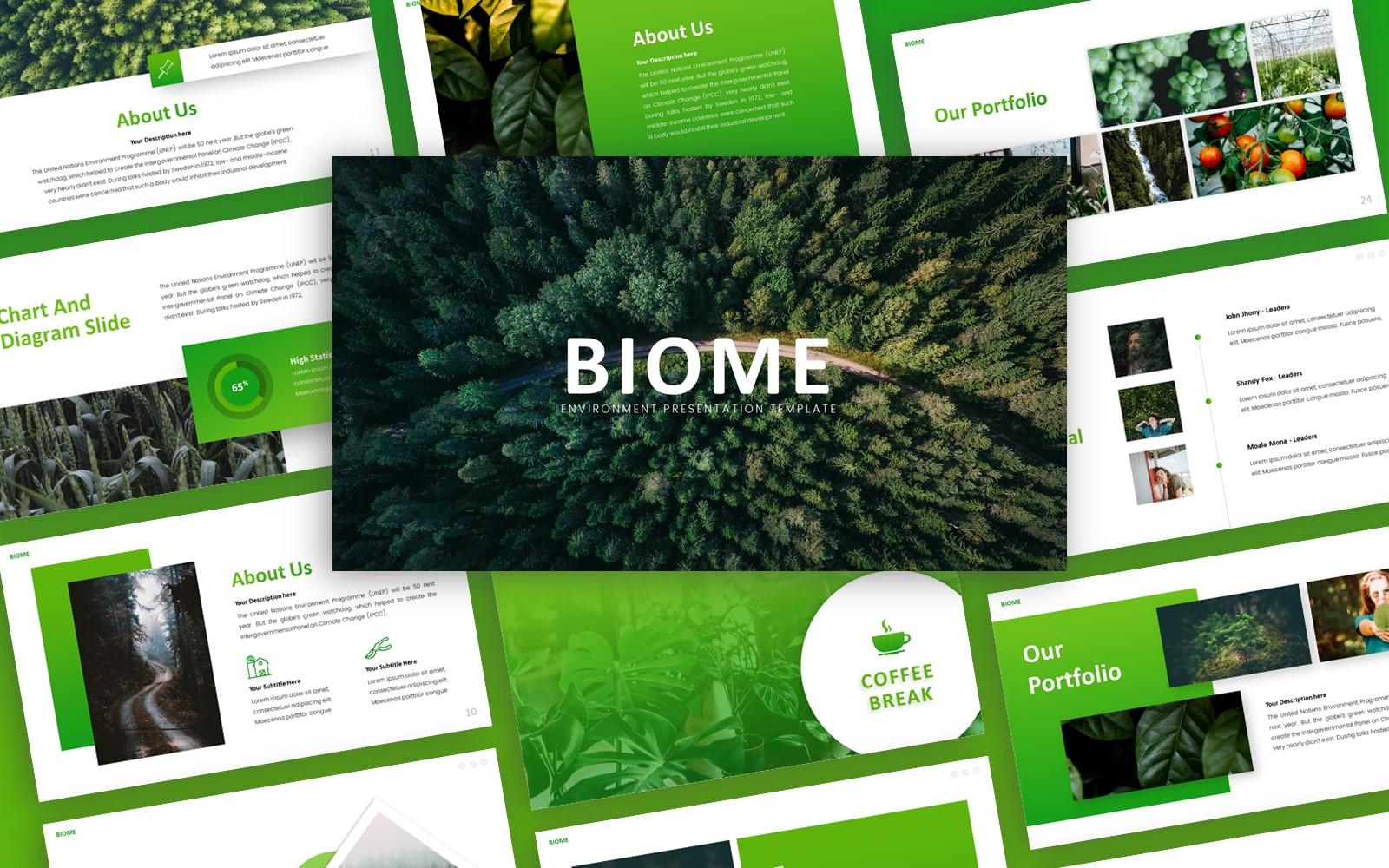 Biome - Environment Multipurpose PowerPoint Template