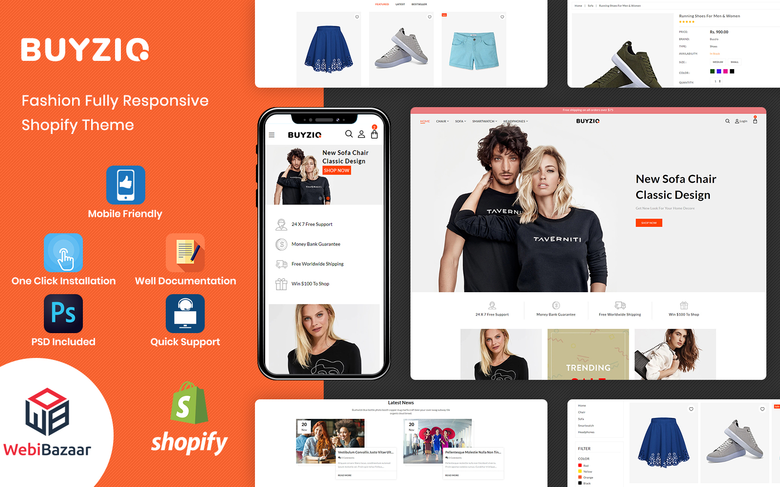 Buyzio -  Fashion & Clothing Multipurpose Shopify Theme