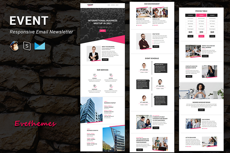 Event - Responsive Email Newsletter Template